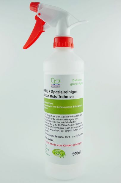 KFR 500 Spezialreiniger für Kunststoffrahmen (500 ml) verschiedene Duftnoten zur Auswahl