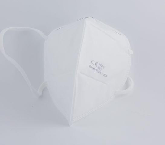 FFP2 Atemschutzmaske zertifiziert nach FFP2-Norm gefaltet Stückzahl Auswahl